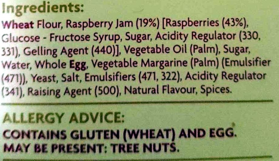 Mini Jam Donuts - Ingredients - en