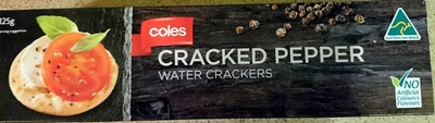 Cracked Pepper Water Crackers - Product - en