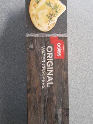 original water crackers - Product - en