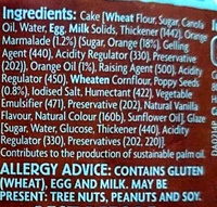 Orange & Poppyseed Cake - Ingredients