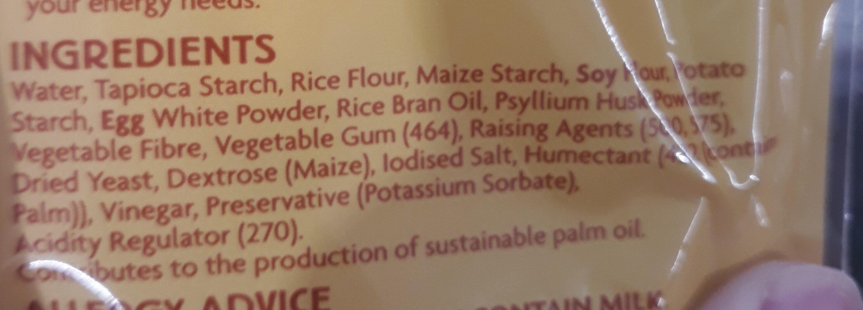 GF pizza base - Ingredients - en