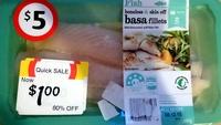 Basa Fillets Boneless & Skin Off - Product