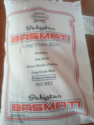 Pakistan Basmati Long Grain Rice - Product