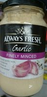 Garlic Finely Minced - Product