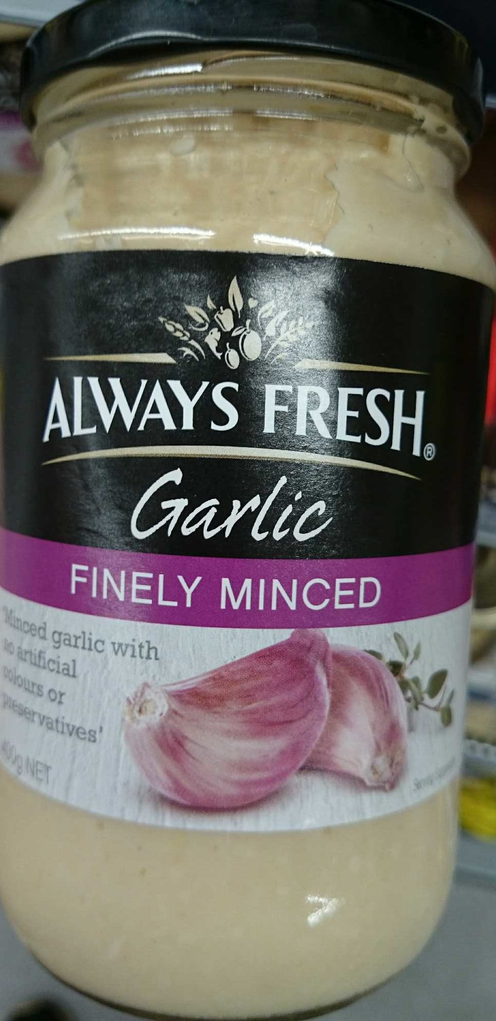 Garlic Finely Minced - Product - en