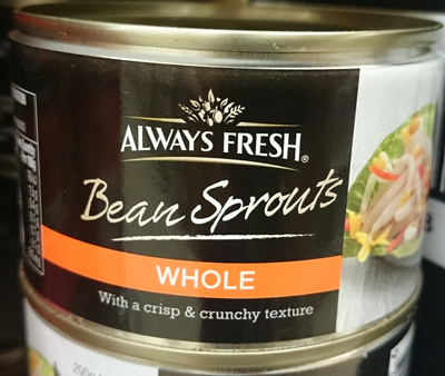 Always Fresh Whole Bean Sprouts - Product