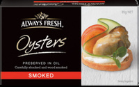 Always Fresh Oysters Preserved in Oil - Product - en