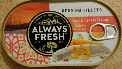 Herring Fillets in Mango Pepper Sauce - Product