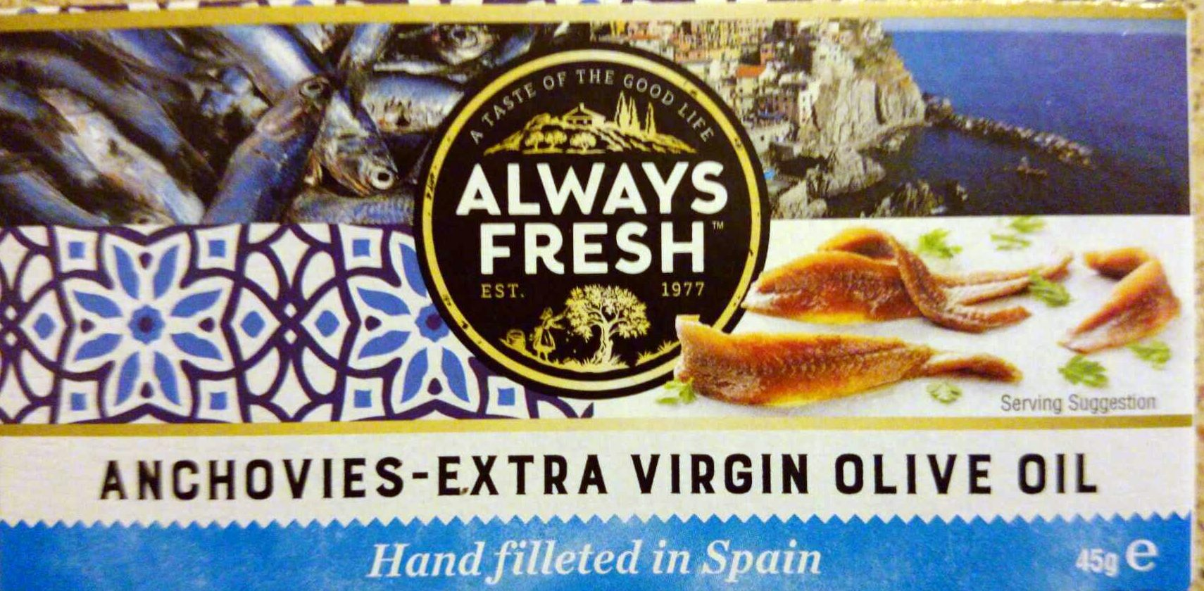 Anchovies - Extra Virgin Olive Oil - Product - en