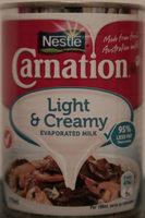 Nestle Carnation Light & Creamy Evaporated Milk - Product - en