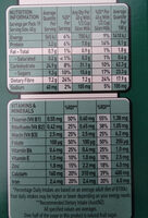 Uncle Toby's Plus (Apple and sultanas) - Nutrition facts - en