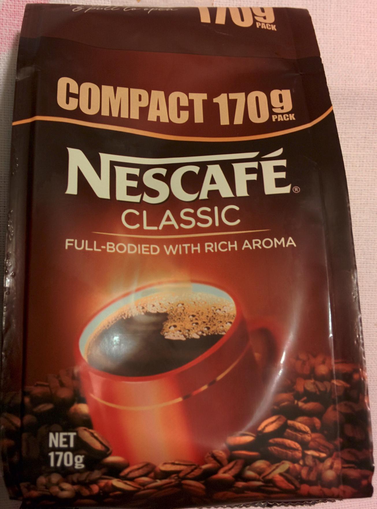 Nescafe classic ingredients
