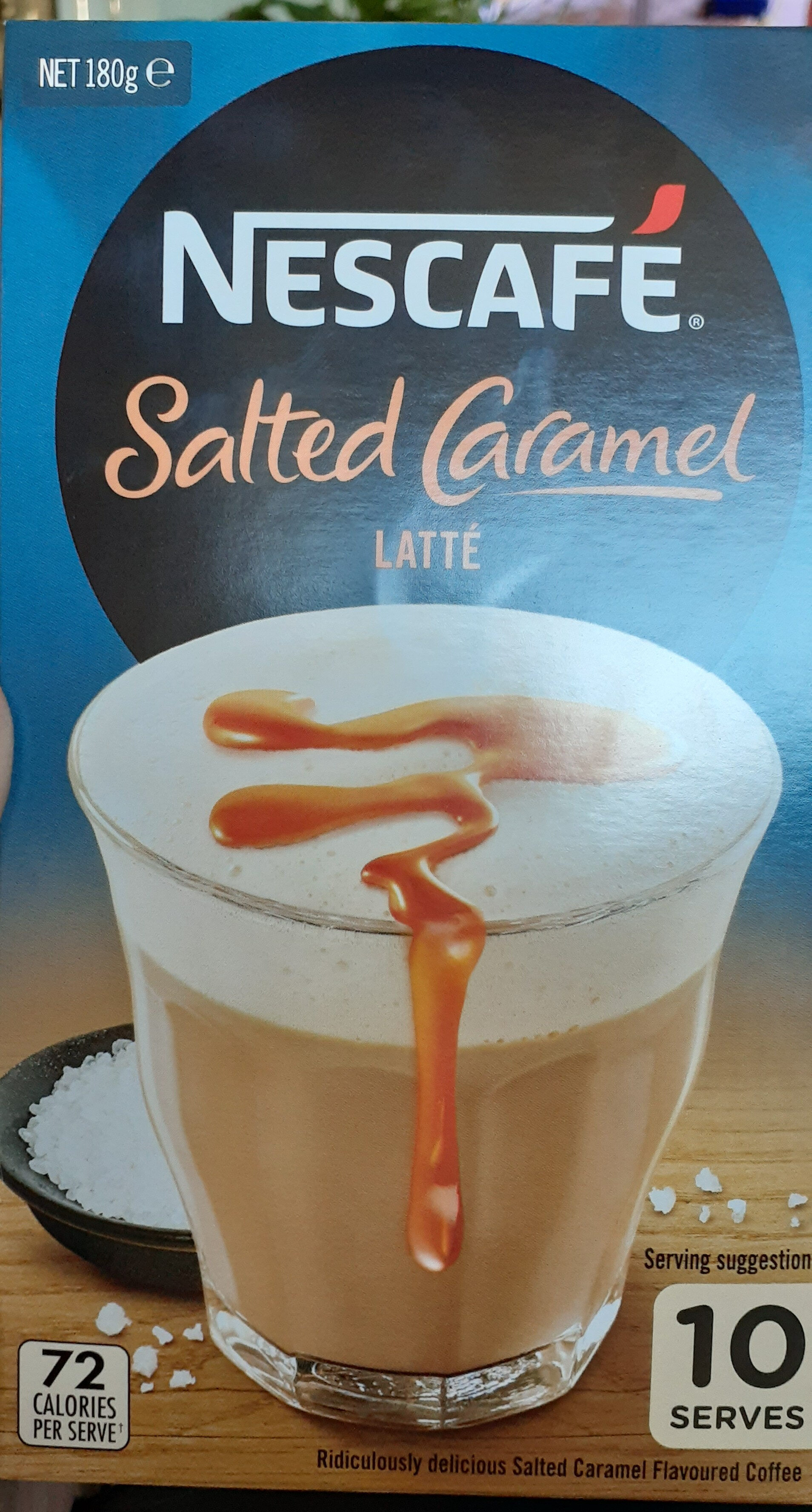 Message salted caramel - Product