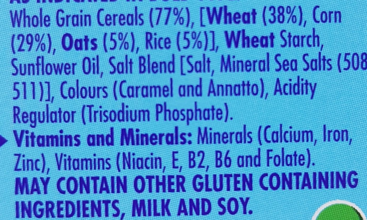Cheerios - Ingredients