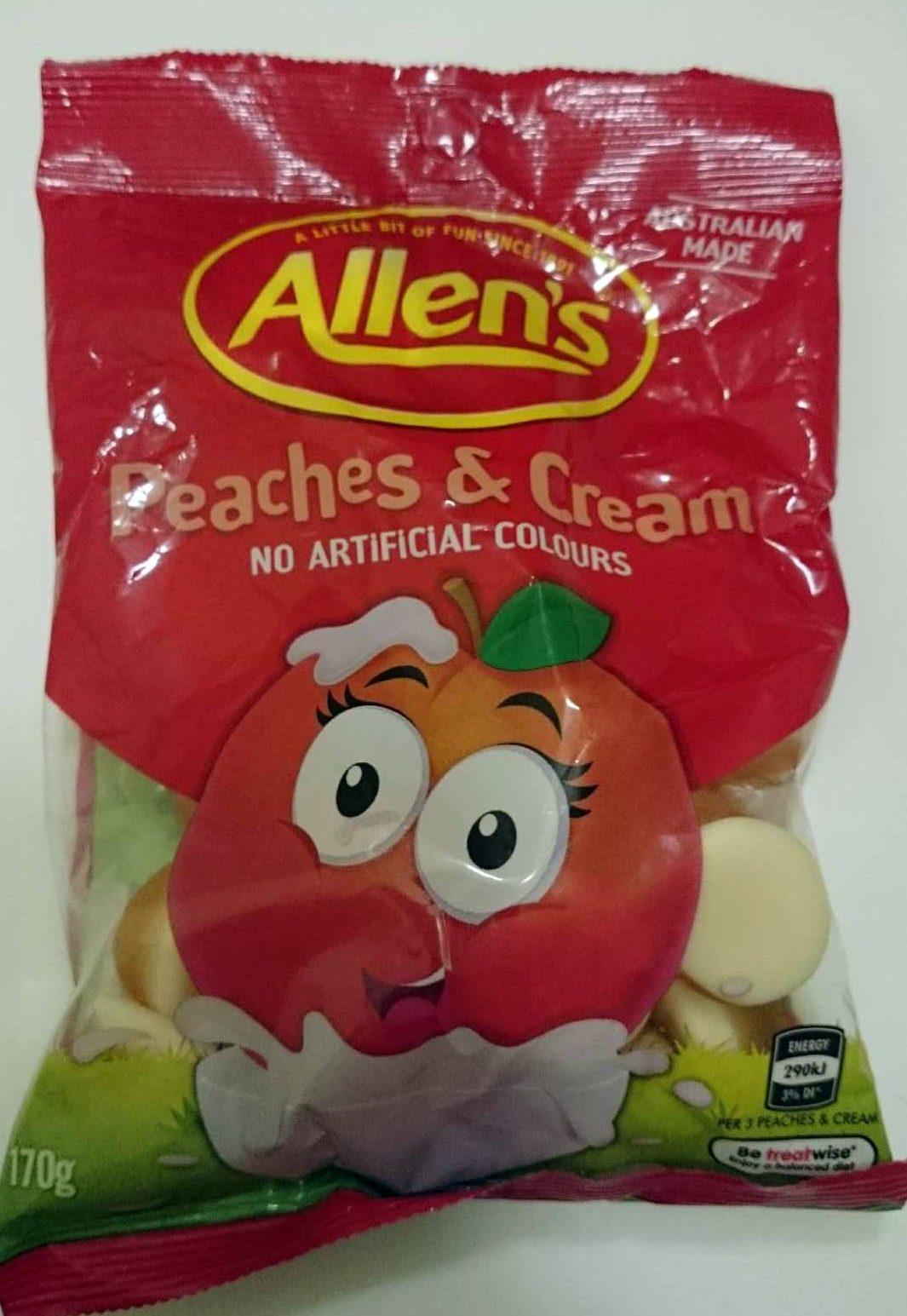 Peaches & Cream - Product