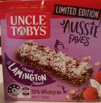 Chewy Lamington Flavour Granola Bars - Product