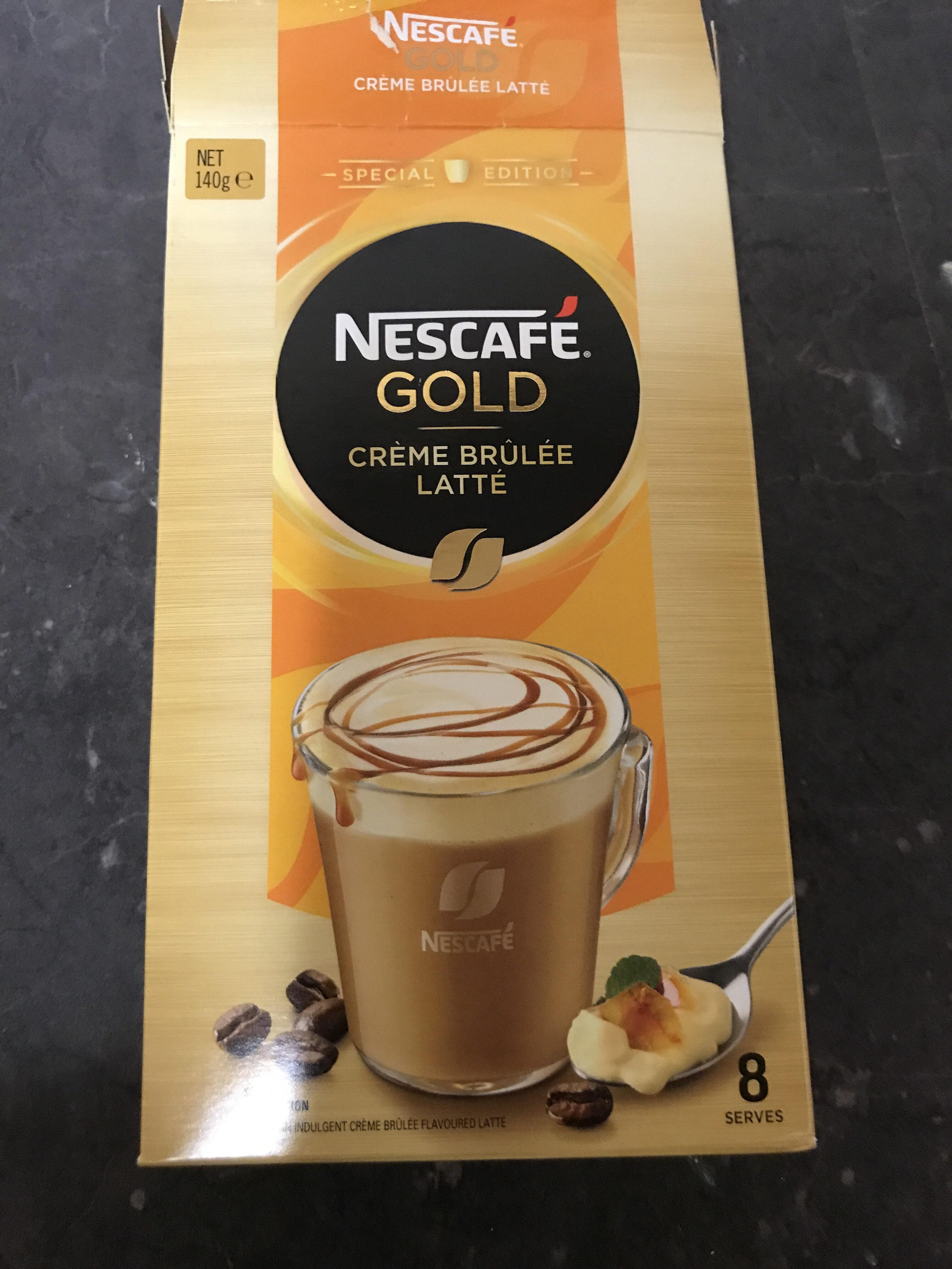 Nescafé Gold - Crème Brûlée Latté - Product