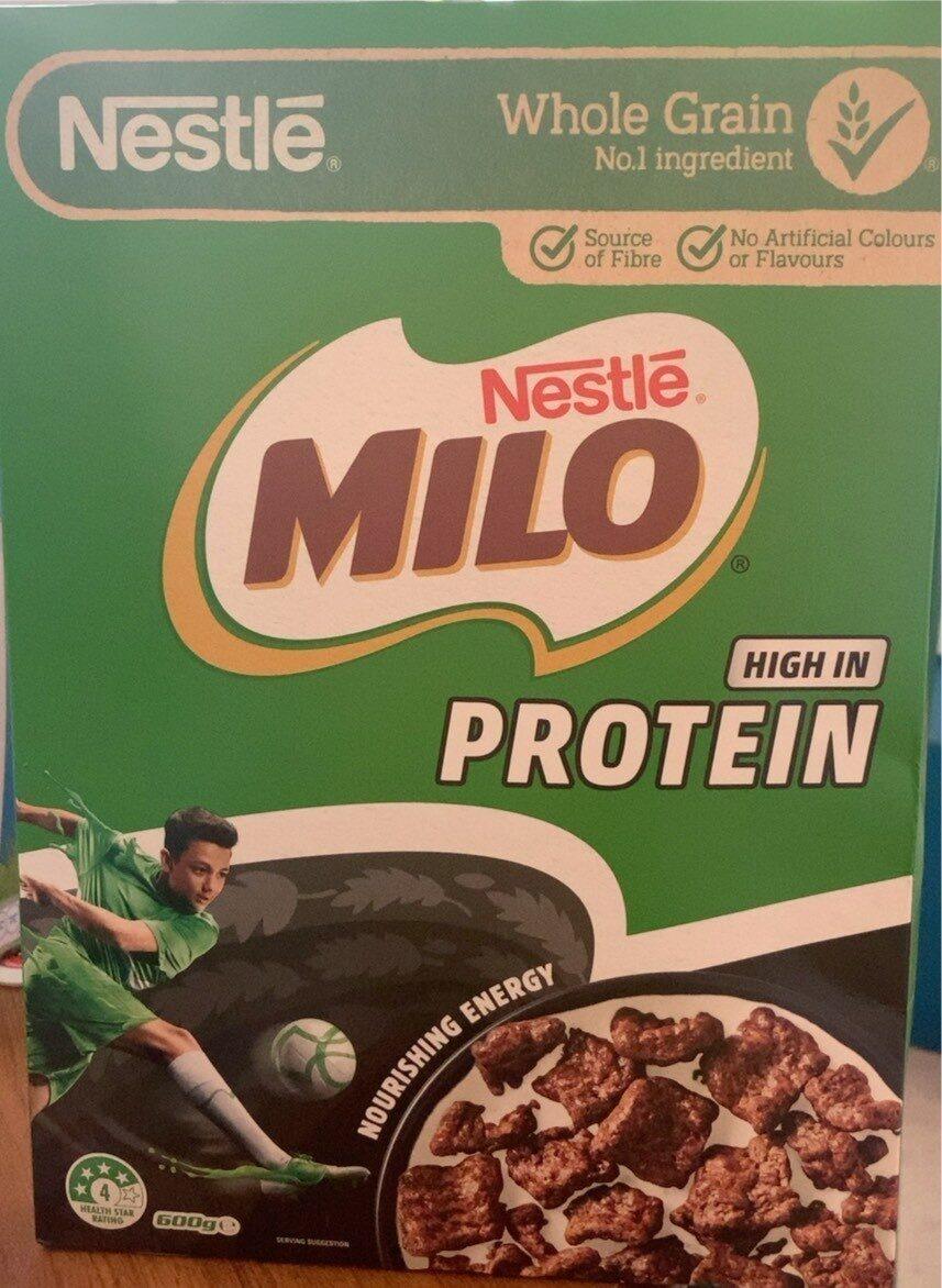Milo high in protein - Product - en