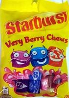 Starburst Very Berry Chews - Product - en