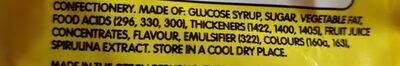 starburst - Ingredients