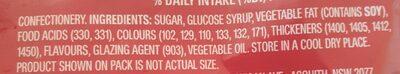Skittles - Ingrédients - en