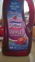 Apple blackcurrent fruit juice cordial - Product