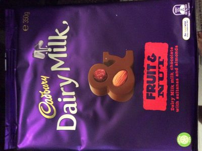 Dairy Milk - fruit & nut - Product