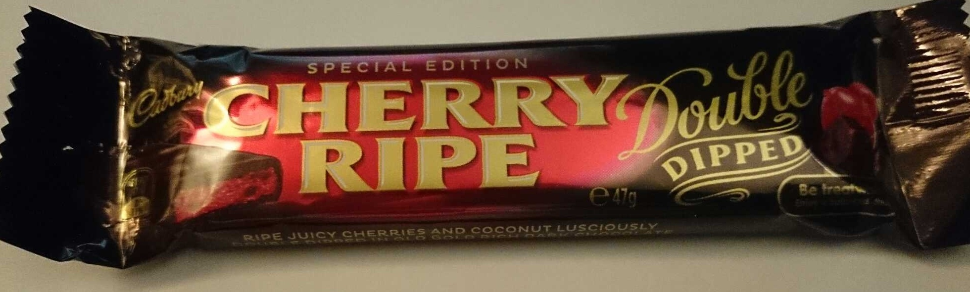 Cherry Ripe Special Edition Double Dipped - Product - en