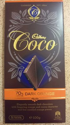 Dark Chocolate orange - Product