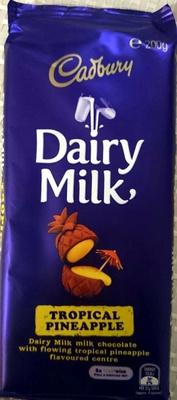 Dairy Milk Tropical Pineapple - Product - en