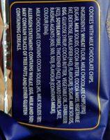 Classic Cookies Chocolate Chip - Ingredients - en