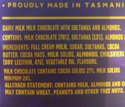 cadbury dairy milk - Ingredients - en
