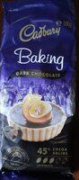 Cadbury Baking Dark chocolate - Product - en