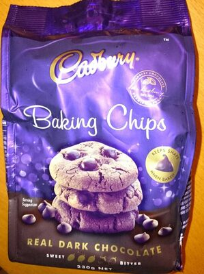 dark chocolate baking chips - Product