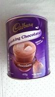 Cadbury Drinking Chocolate - Product