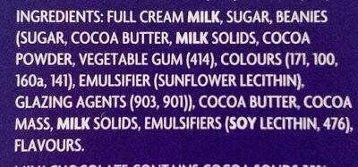 Humpty Dumpty - Ingredients