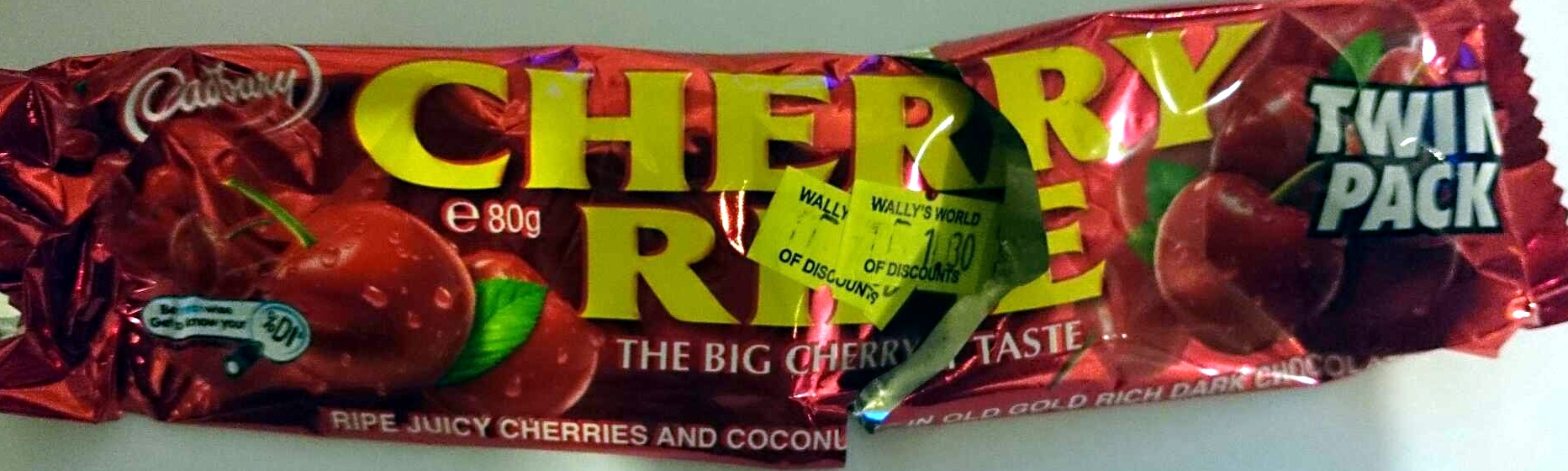 Cherry Ripe Twin Pack - Product - en
