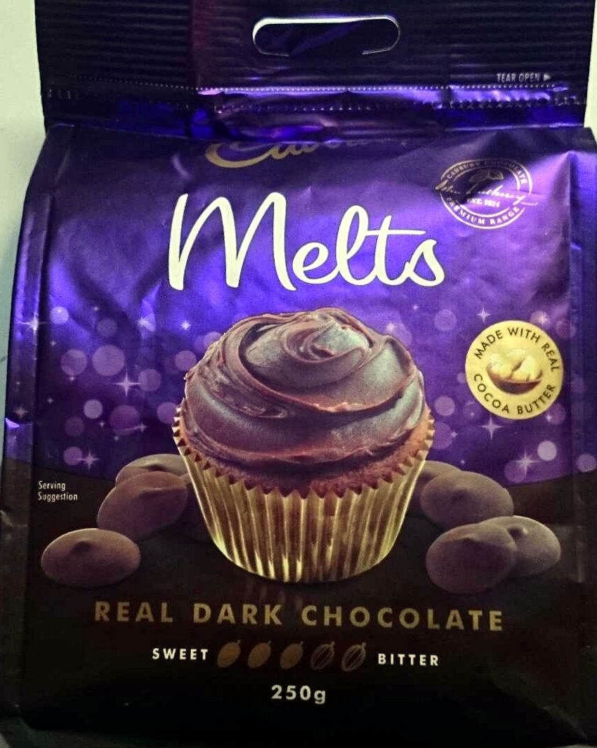 Real Dark Chocolate Melts - Product