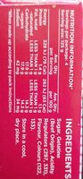 Jelly crystals - Nutrition facts - en
