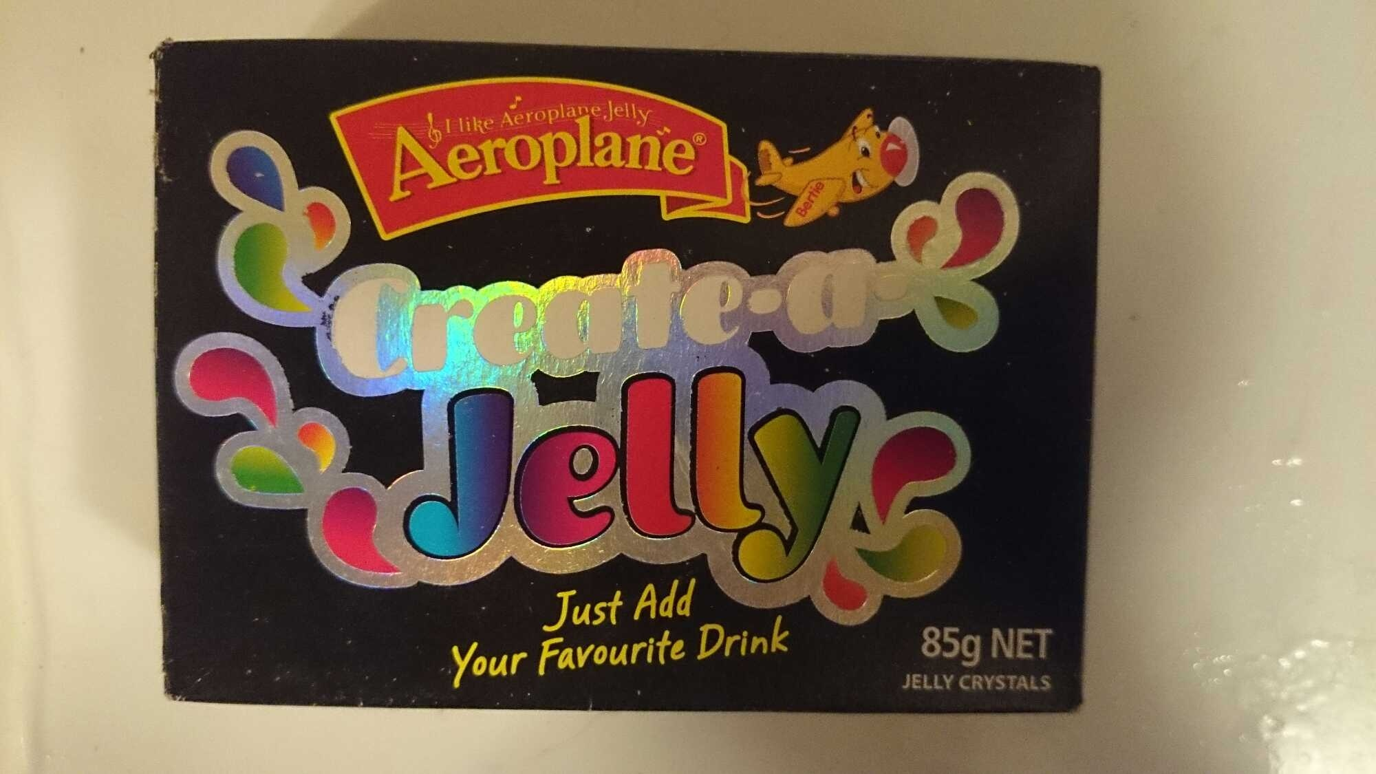 Aeroplane Create a Jelly - 85g