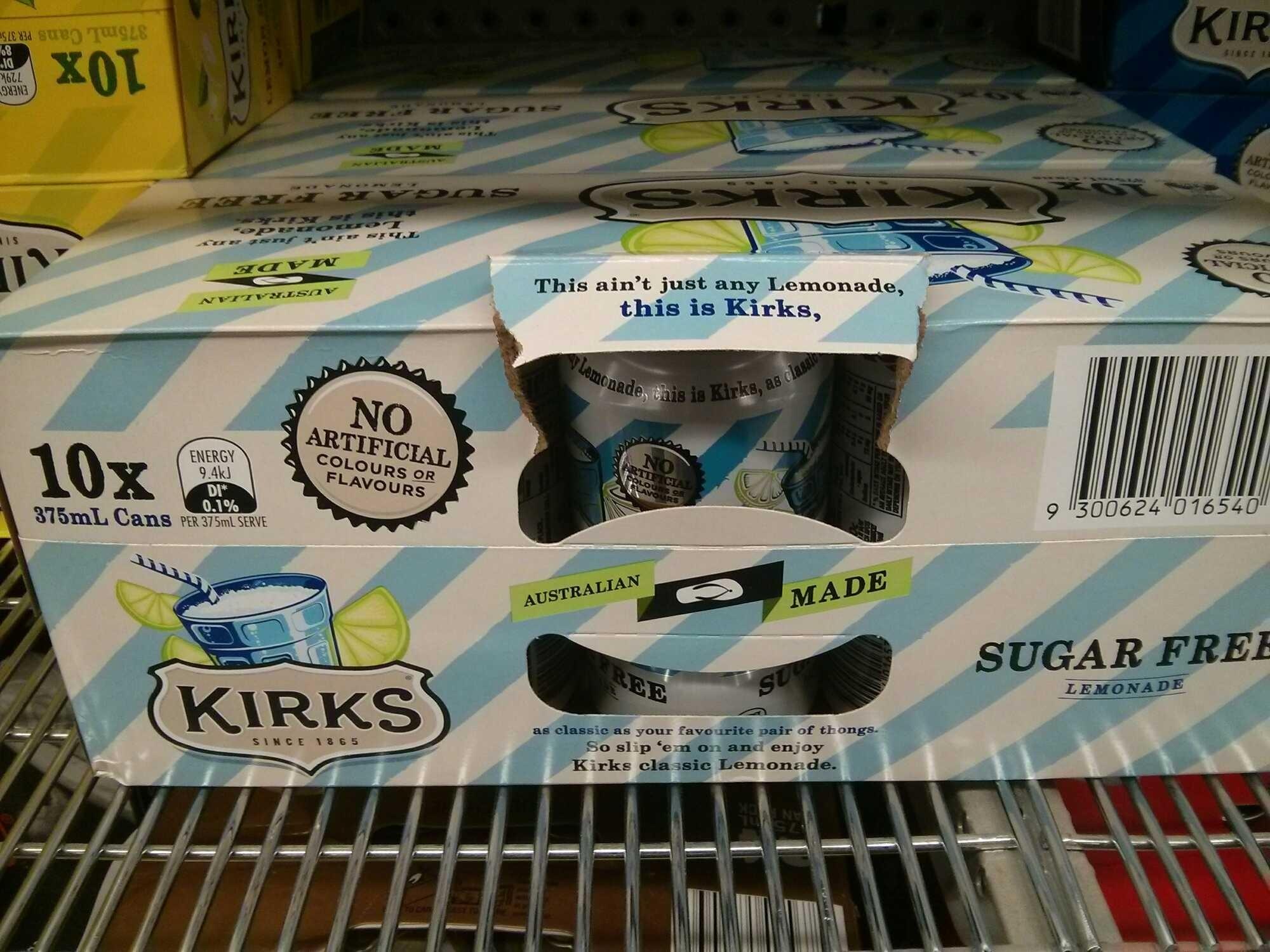 sugar free lemonade - Product - en