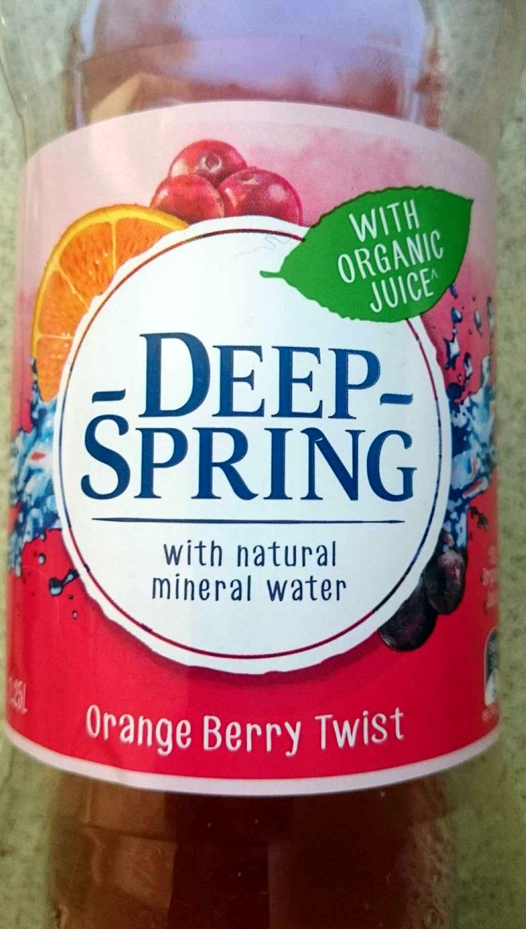 Deep Spring Orange Berry Twist - Product