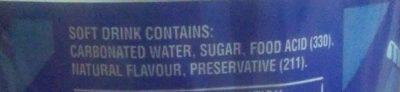 Lemonade original - Ingredients - en