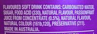 Pasito - Ingredients - en