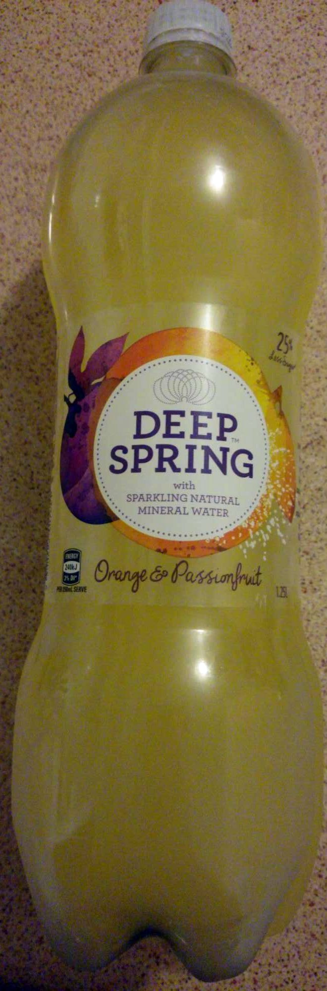 Deep Spring Orange & Passionfruit - Product