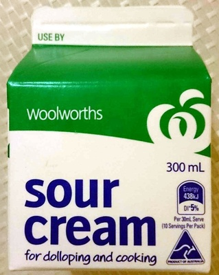 Sour Cream For Dolloping and Cooking - Product - en