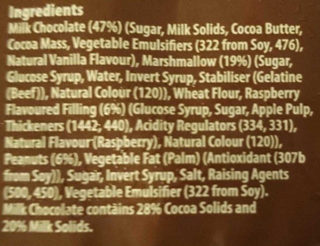 Rocky Road Mallows - Ingredients - en