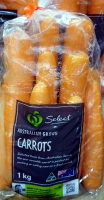 Australian Grown Carrots - Product