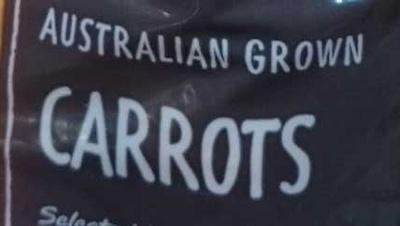 Australian Grown Carrots - Ingredients