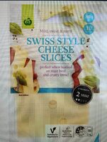Swiss Cheese Slices - Product - en